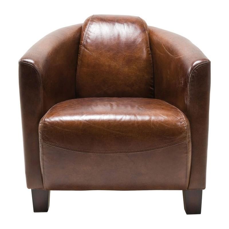 Goede Kare Design Armstoel Cigar Lounge Bruin   Fauteuil   Loungestoel SY-47