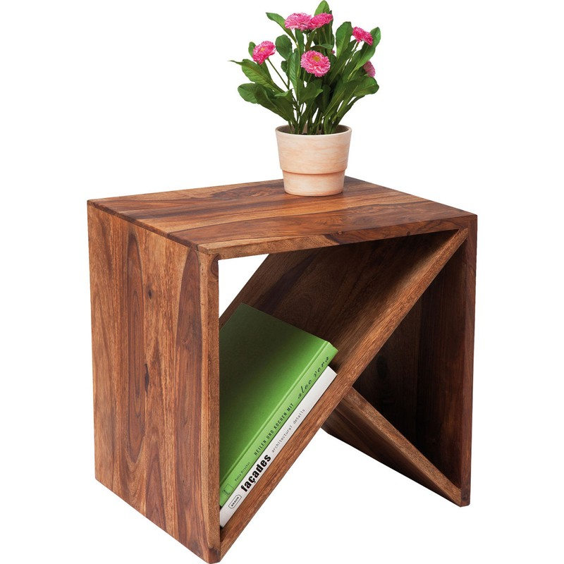 kare design authentico cube zigzag | bijzettafel | salontafel