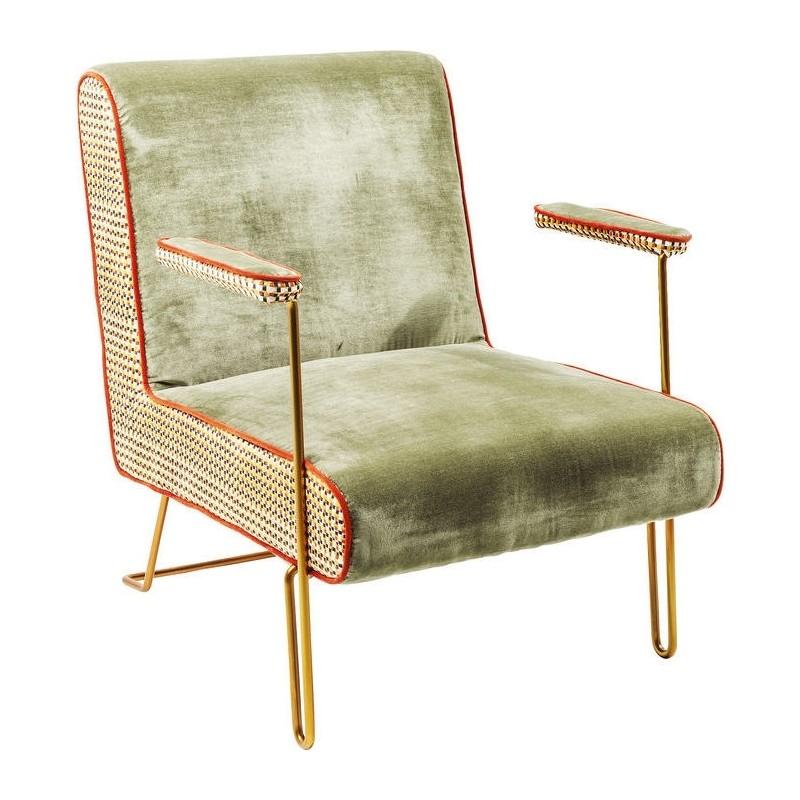 Houten Design Fauteuil.Kare Design Fauteuil Aunt Betty Loungestoel Retro Fifties