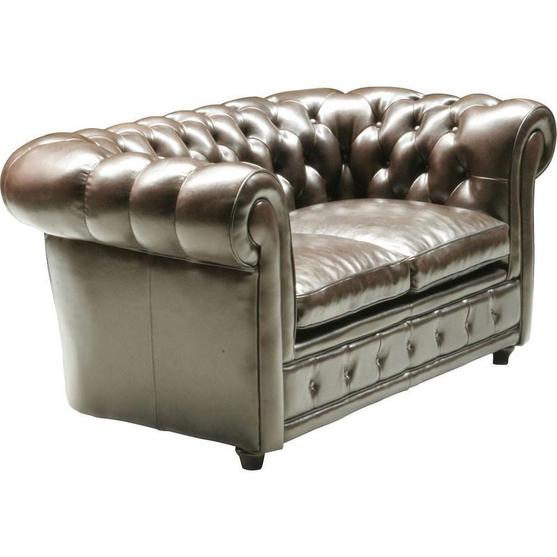 kare design oxford vintage 2 zits sofa bank bycast leer. Black Bedroom Furniture Sets. Home Design Ideas