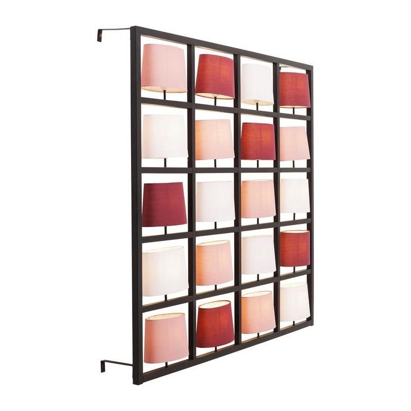 kare design parecchi wandlamp berry black big lampen. Black Bedroom Furniture Sets. Home Design Ideas