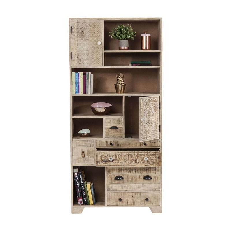 Kare Design Puro | Vakkenkast | Boekenkast | Opbergkast | Hoge kast ...