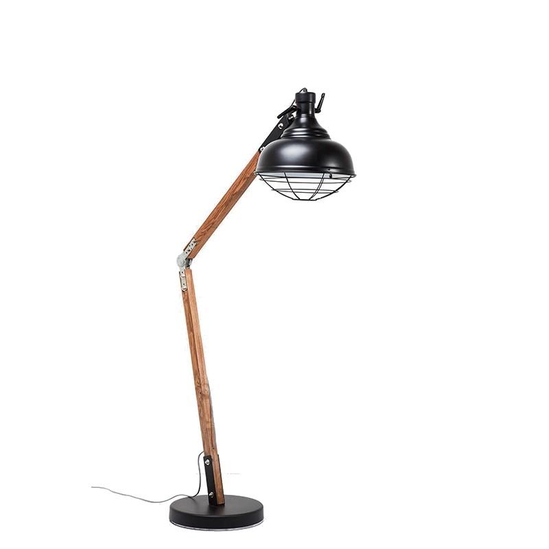 kare design vloerlamp rocky zeer stoer en industrieel zooff