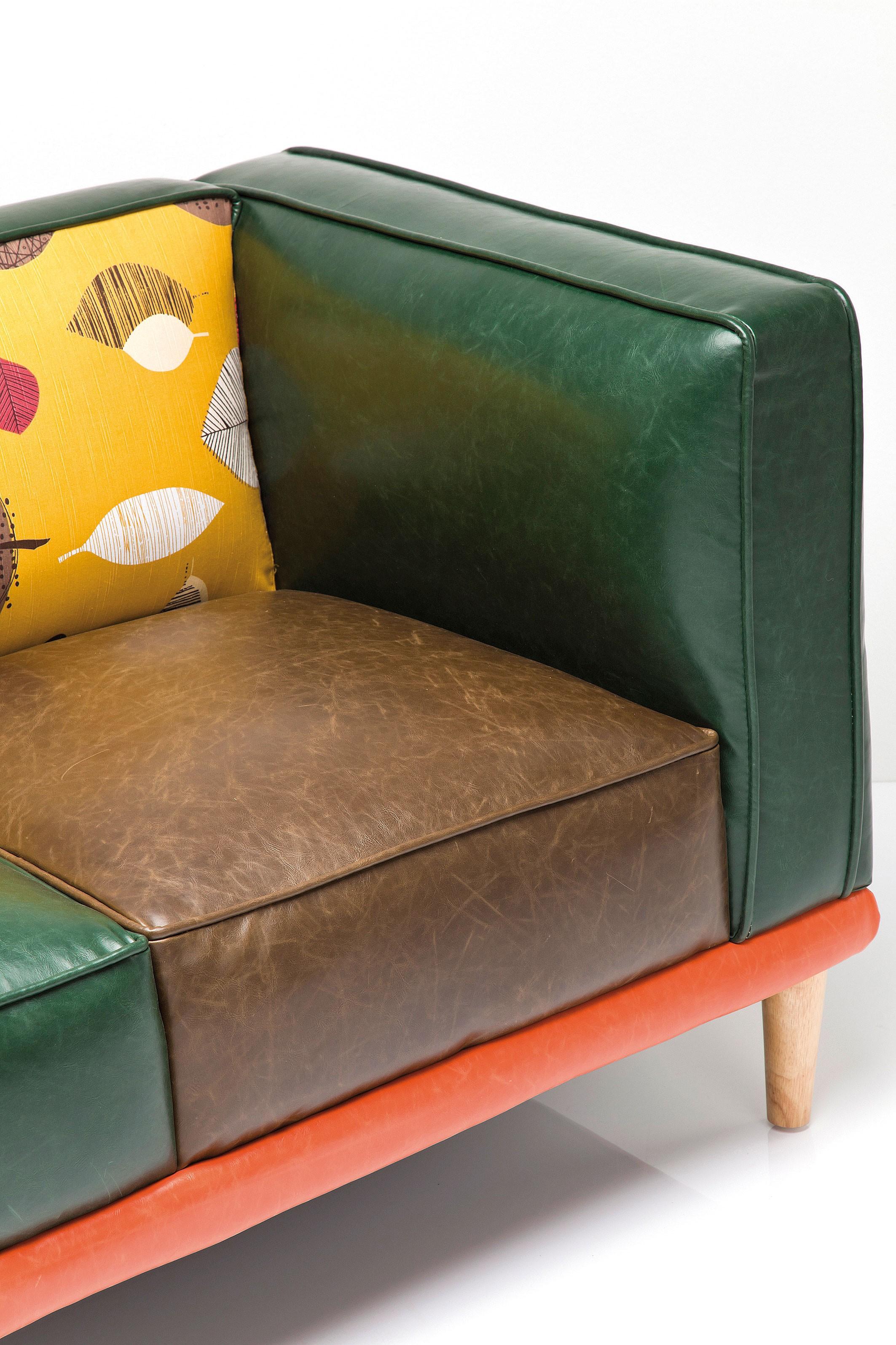 2 Zits Bank Design.Kare Design Sofa Leaf 2 Zits Bank