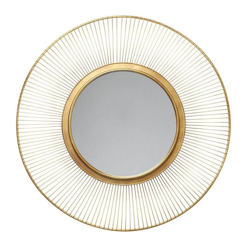 kare design sun storm spiegel goud mirror gold. Black Bedroom Furniture Sets. Home Design Ideas