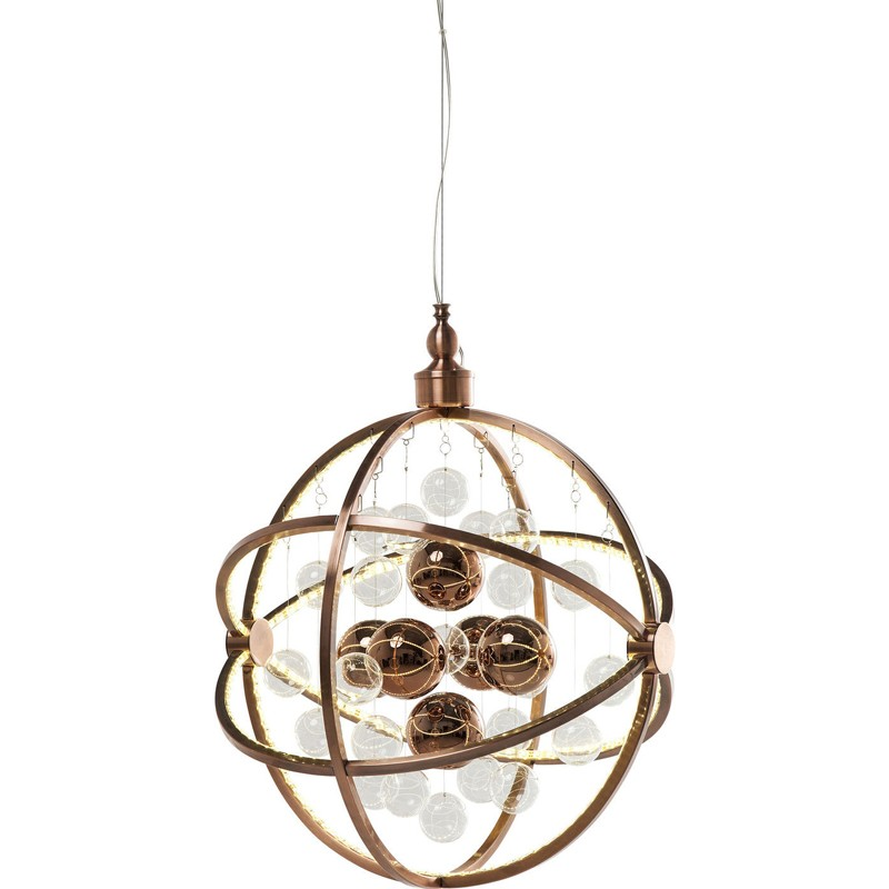 Kare design universum koper led pendant hanglamp for Koper design