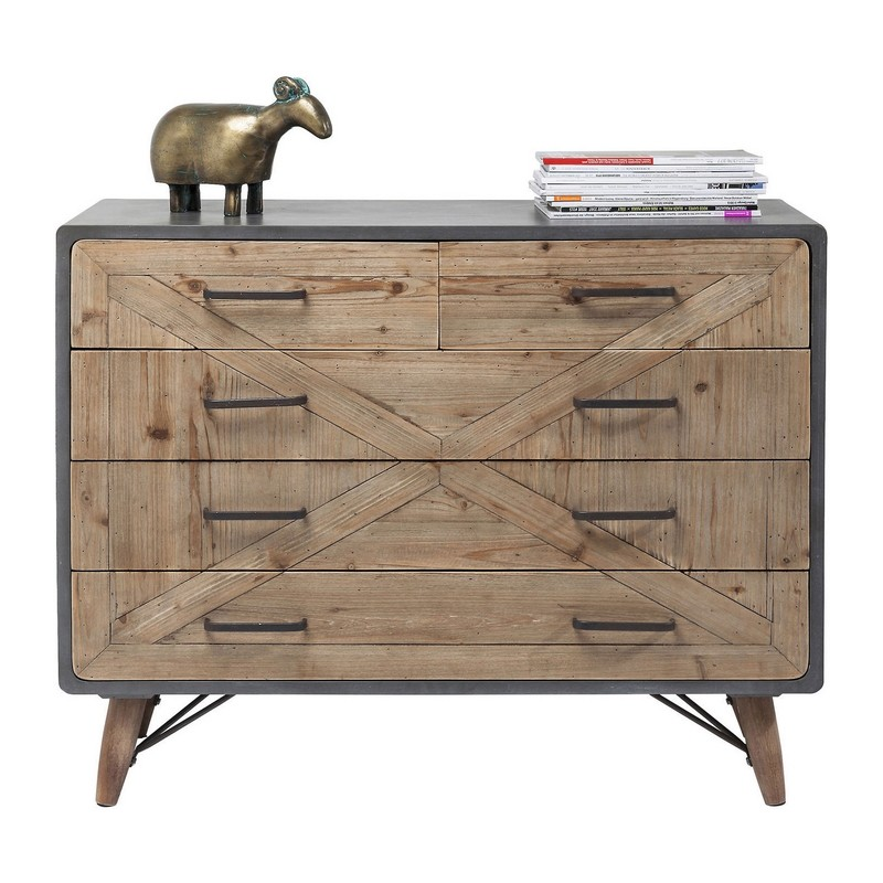 Design Dressoirs En Ladekasten.Kare Design X Factory 5 Lade Dressoir Kast Ladekast