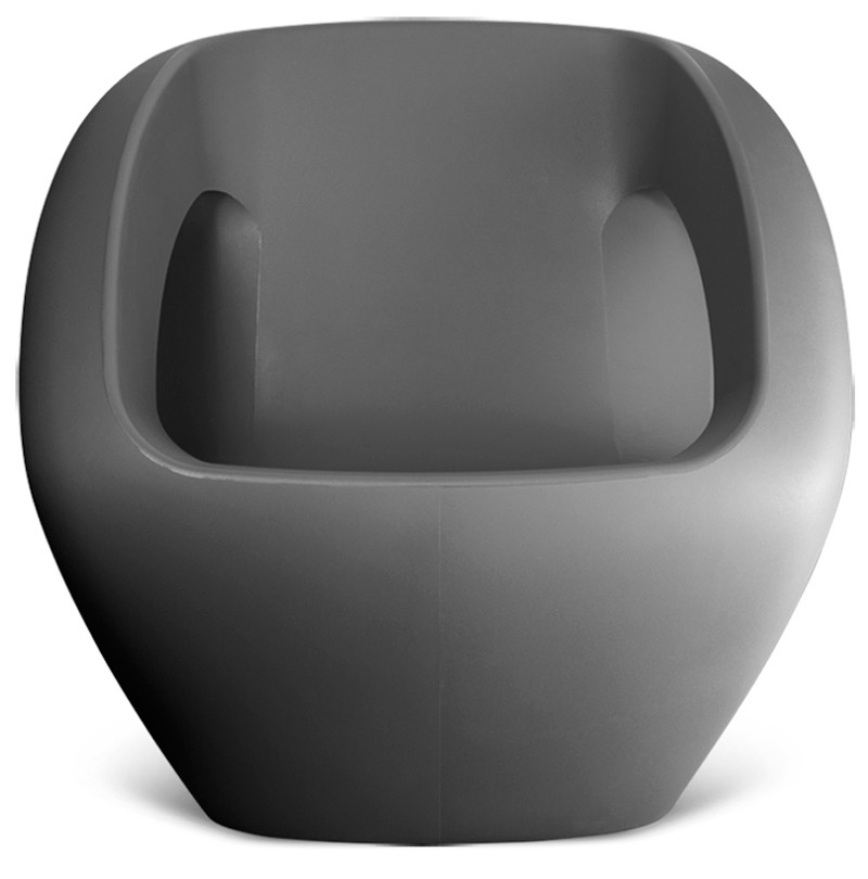 Lonc seaser design lounge tuinstoel grijs for Lounge stoel buiten