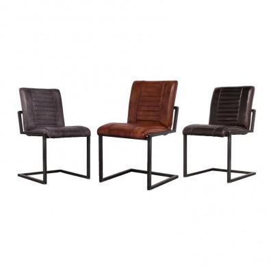Buisframe stoelen opvallend design for Design stoel 24