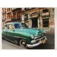 Kare Design Canvas Cuba Car 110x140 cm