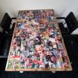 Sloophouten LP-Tafel met gepersonaliseerd Epoxy coating blad