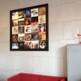 Sloophouten LP-Frame met gepersonaliseerde inhoud en epoxy coating
