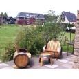 Wijnvat Tuinset Handgemaakt in Haarlem - Foto aangeleverd door een klant