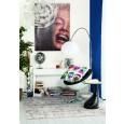 Zooff Designs Telesto Vloerlamp / Booglamp chroom
