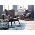 Kare Design Angels Wings Fauteuil Antraciet Eco