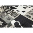 Zooff Kare Design Square Mix It Black Tapijt