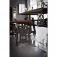 Zooff Kare Design Steamboat verstelbare tafel 160x80cm
