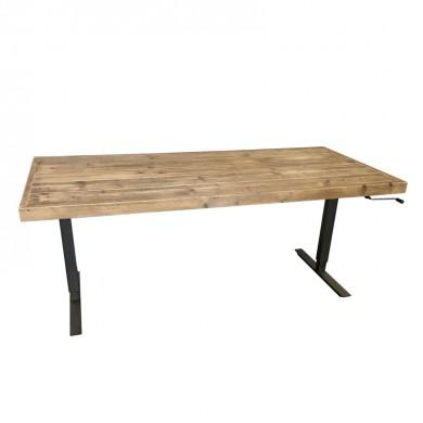 Ergonomisch Verstelbaar Kantoor Bureau 83 cm van steigerhout