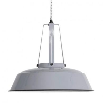 HK Living Workshop Hanglamp L grijs
