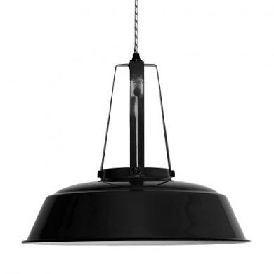 HK Living Workshop Hanglamp L zwart