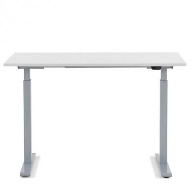 Kare Design Ergonomisch Elektrisch Verstelbaar Zit/Sta Bureau 120x70 cm grijs-wit