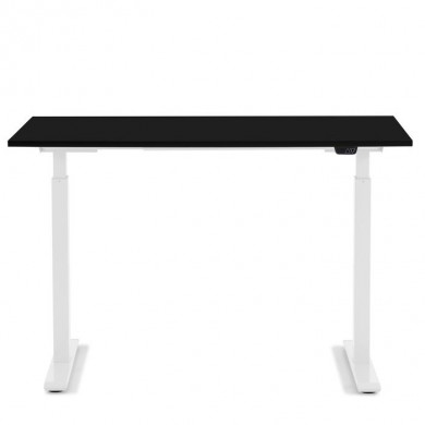 Kare Design Ergonomisch Elektrisch Verstelbaar Zit/Sta Bureau 120x70 cm wit-zwart