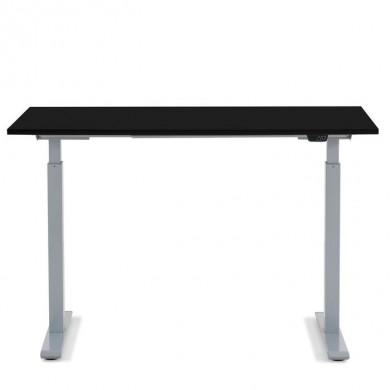 Kare Design Ergonomisch Elektrisch Verstelbaar Zit/Sta Bureau 120x70 cm grijs-zwart