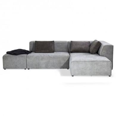 Kare Design Sofa Infinity Chenille Ottomane Rechts