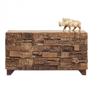 Kare Design dressoir Shanti Surprise Puzzle Nature