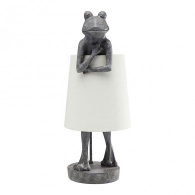Kare Design tafellamp Frog Grey