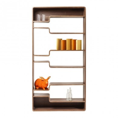 Kare Design Shelf Soft Walnut kast
