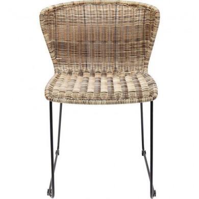 Kare Design stoel Zansibar Rotan