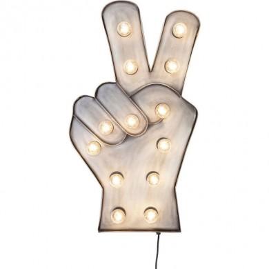 Kare Design Wandlamp Peace