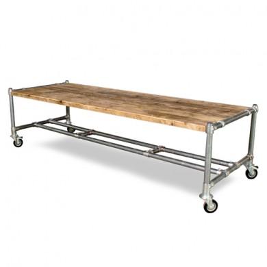 Handgemaakte Robuuste sloophouten Eettafel