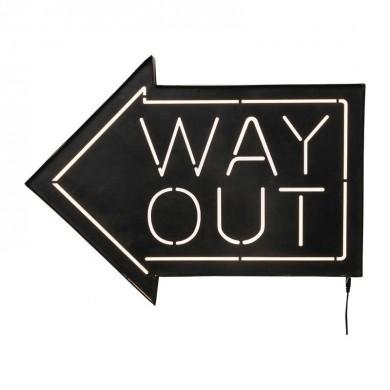 Kare Design Way Out LED Wandlamp