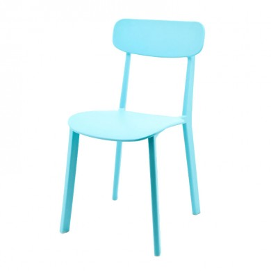 By-Boo Awesome 2 Eetkamerstoelen lichtblauw
