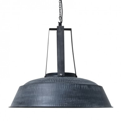 HK Living Workshop XL Hanglamp Rustiek zwart