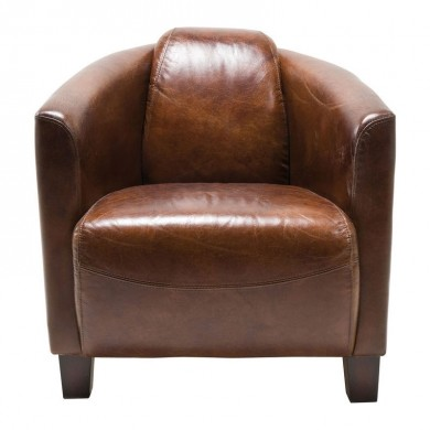 Kare Design Armstoel Cigar Lounge Bruin