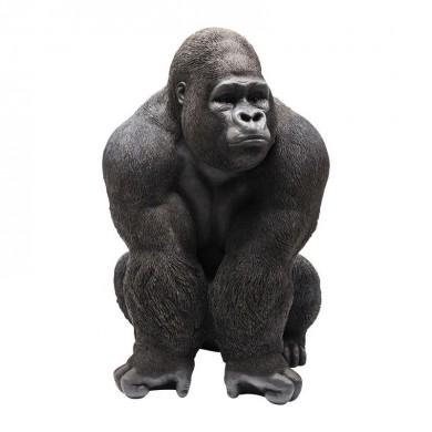 Kare Design Deco Figurine Monkey Gorilla Front XXL