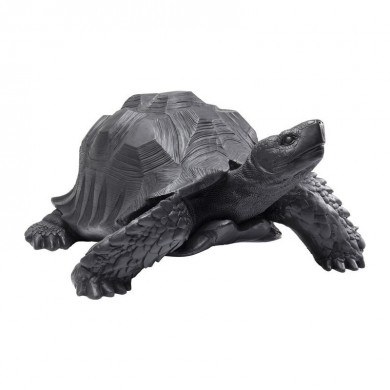 Kare Design Deco Figurine Turtle Black Big