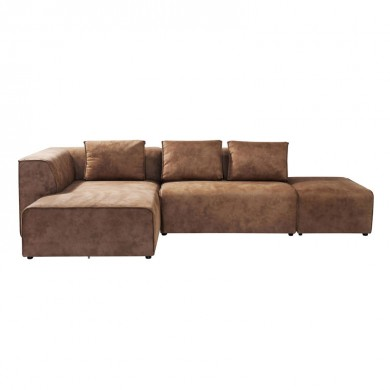 Kare Design Sofa Infinity Antique Ottomane Cognac links