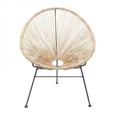 Kare Design Spaghetti Nature Kuipstoel