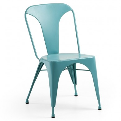 LaForma Malibu Eetkamerstoel Metaal Turquoise