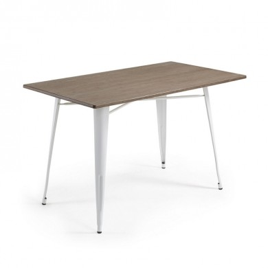 LaForma Malibu Eettafel 150x80cm Wit
