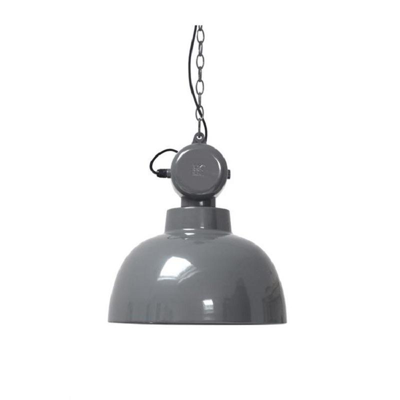 HK Living Hanglamp Factory M Grijs