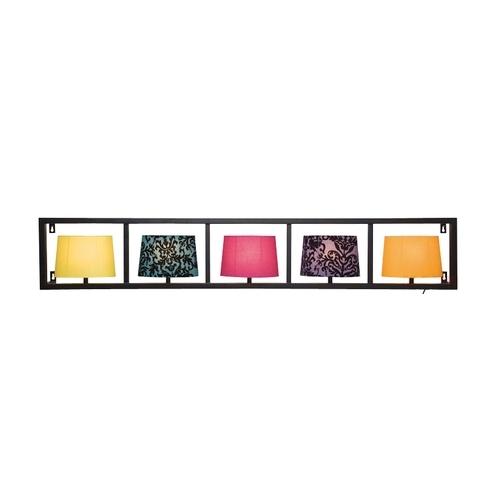 Kare Design Parecchi retro wandlamp Horizontaal