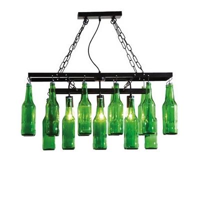 Kare Design Beer Bottles Bierfles Hanglamp