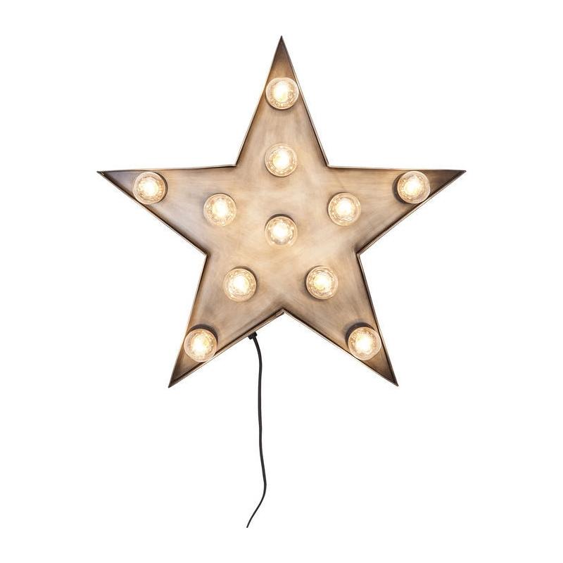 Kare Design Wandlamp Star
