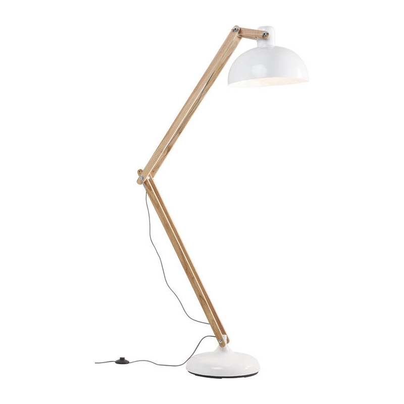 Kare Design Work Station Vloerlamp Wit