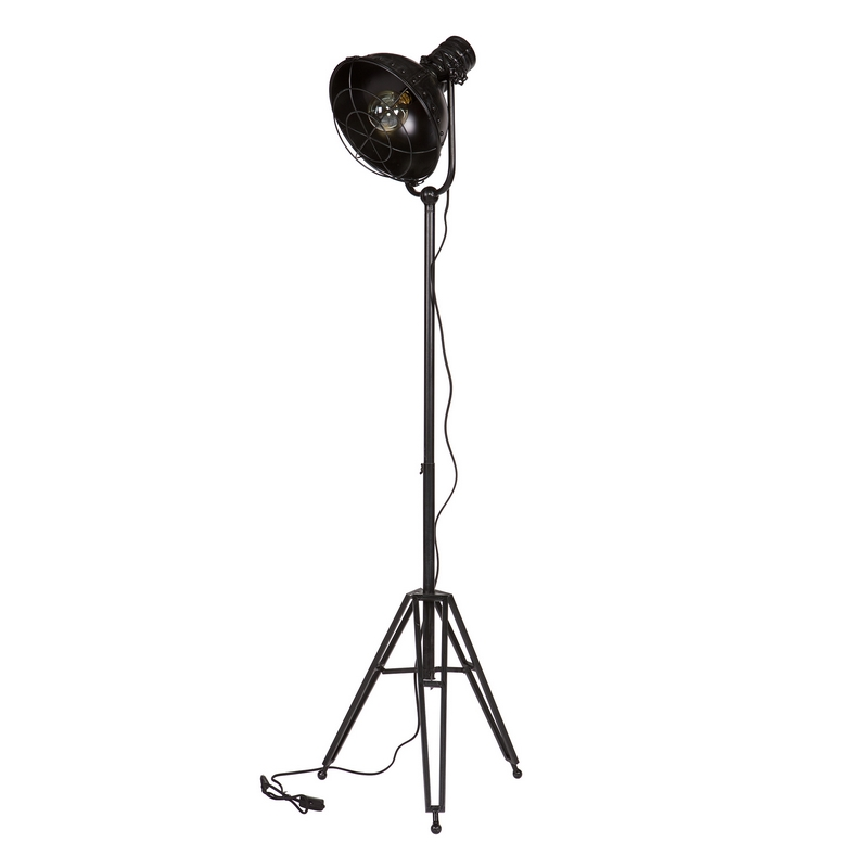 Be Pure Spotlight Staande Vloerlamp Zwart